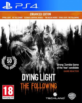 Dying Light The Following для PS4