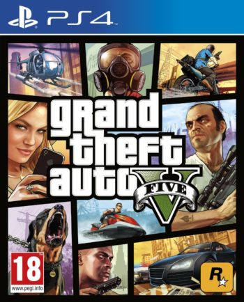 Grand Theft Auto V для PS4