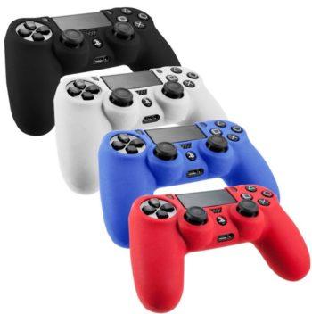 Силиконовый чехол для джойстика PS4 ассортименте
