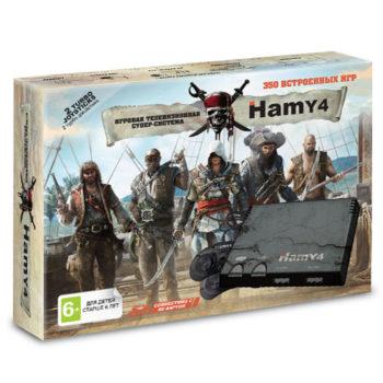 "Игровая приставка ""Hamy 4"" (350-in-1) Assassin Creed Black"