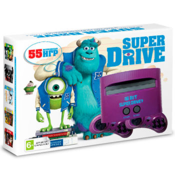 Игровая приставка Super Drive Monster Inc (55-in-1)