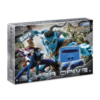 Игровая приставка Super Drive Avatar (8-in-1)