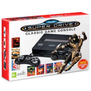 Игровая приставка  NES (166-in-1) Black