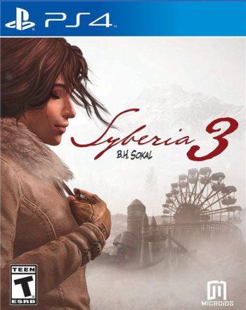 Сибирь 3 для PS4