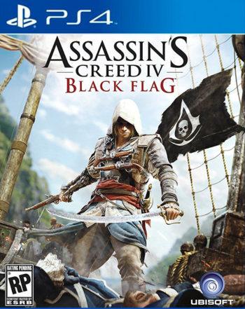 Assassin's Creed 4 (IV) Черный флаг для PS4