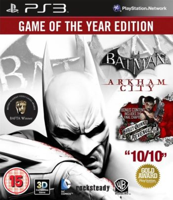 Batman Arkham City (Аркхем Сити) Издание Игра Года (Game of the Year Edition) для PS3