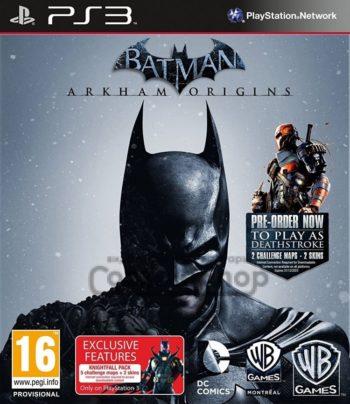 Batman Arkham Origins для PS3