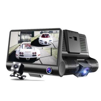 Автомобильный видеорегистратор XPX P10 с 3-мя камерами
