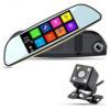 Автомобильный видеорегистратор-зеркало XPX ZX857 с камерой заднего вида 7″