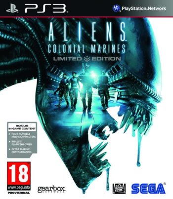 Aliens Colonial Marines для PS3