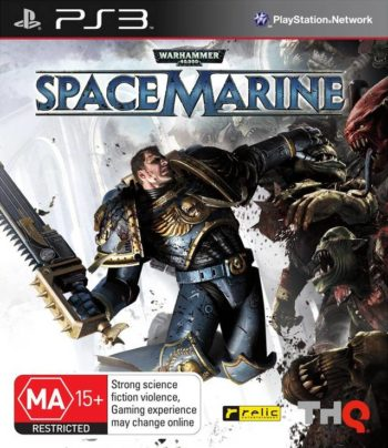 Warhammer 40,000 Space Marine PS3