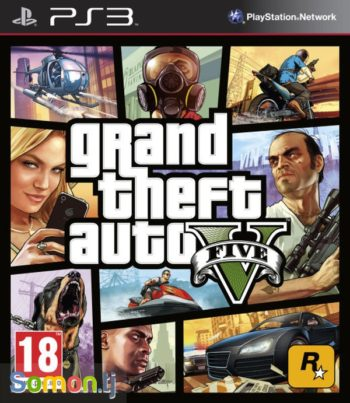 GTA V Grand Theft Auto V (GTA 5) для PS3