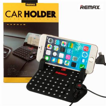 Автомобильный держатель зарядка коврик Remax Car Holder Super Flexible