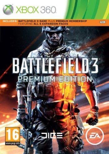 Battlefield 3 Premium Edition для Xbox 360