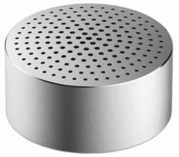 Портативная колонка Xiaomi Mi Portable Round Box, серебро