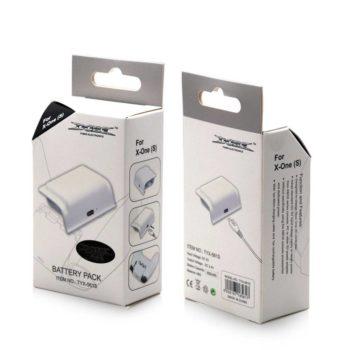 Аккумулятор XBox One S Battery pack 400mAH White