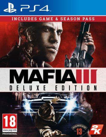 Mafia 3 Delux Edition для PS4
