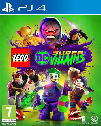 LEGO Суперзлодеи DC (Supervillains DC) для PS4
