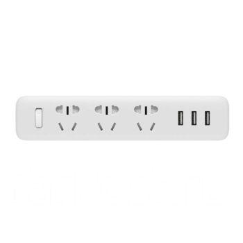 Удлинитель Xiaomi Mi Power Strip 3 розетки 3 USB XMCXB01QM (Белый)