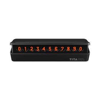Табличка для номера телефона Xiaomi TITA (Черный)