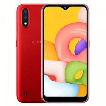 Samsung Galaxy A01 Красный